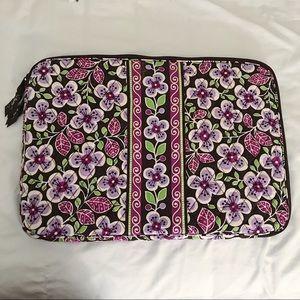 Vera Bradley Purple Quilted Laptop Bag